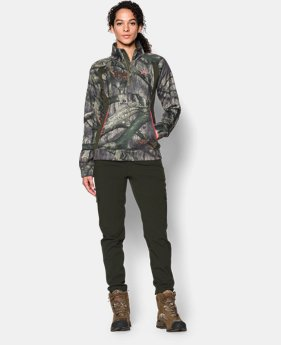 Women's UA Camo Armour® Fleece ¼ Zip  2 Colors $56.99