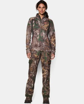 Women's UA Camo Armour® Fleece ¼ Zip