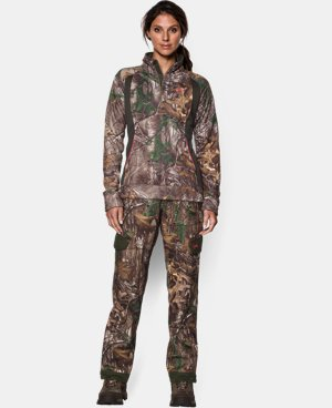 Women's UA Camo Armour® Fleece ¼ Zip  1 Color $42.74