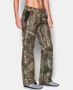 New Arrival  Women's UA Camo Armour® Fleece Pant   $84.99