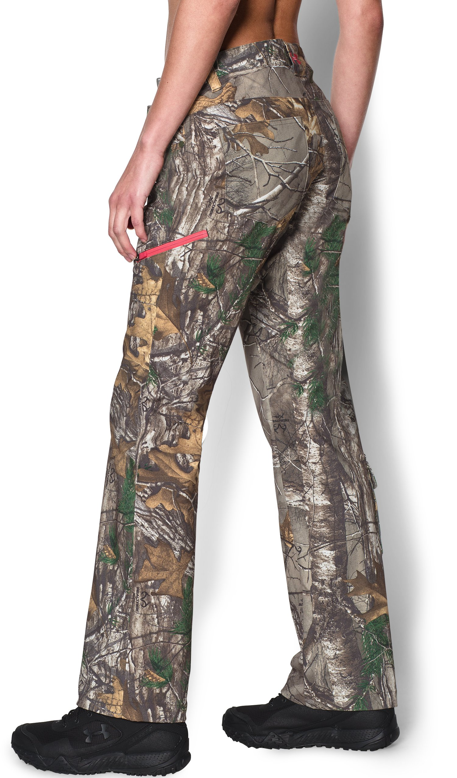 Women's Under Armour® Scent Control Field Pants, REALTREE AP-XTRA, undefined
