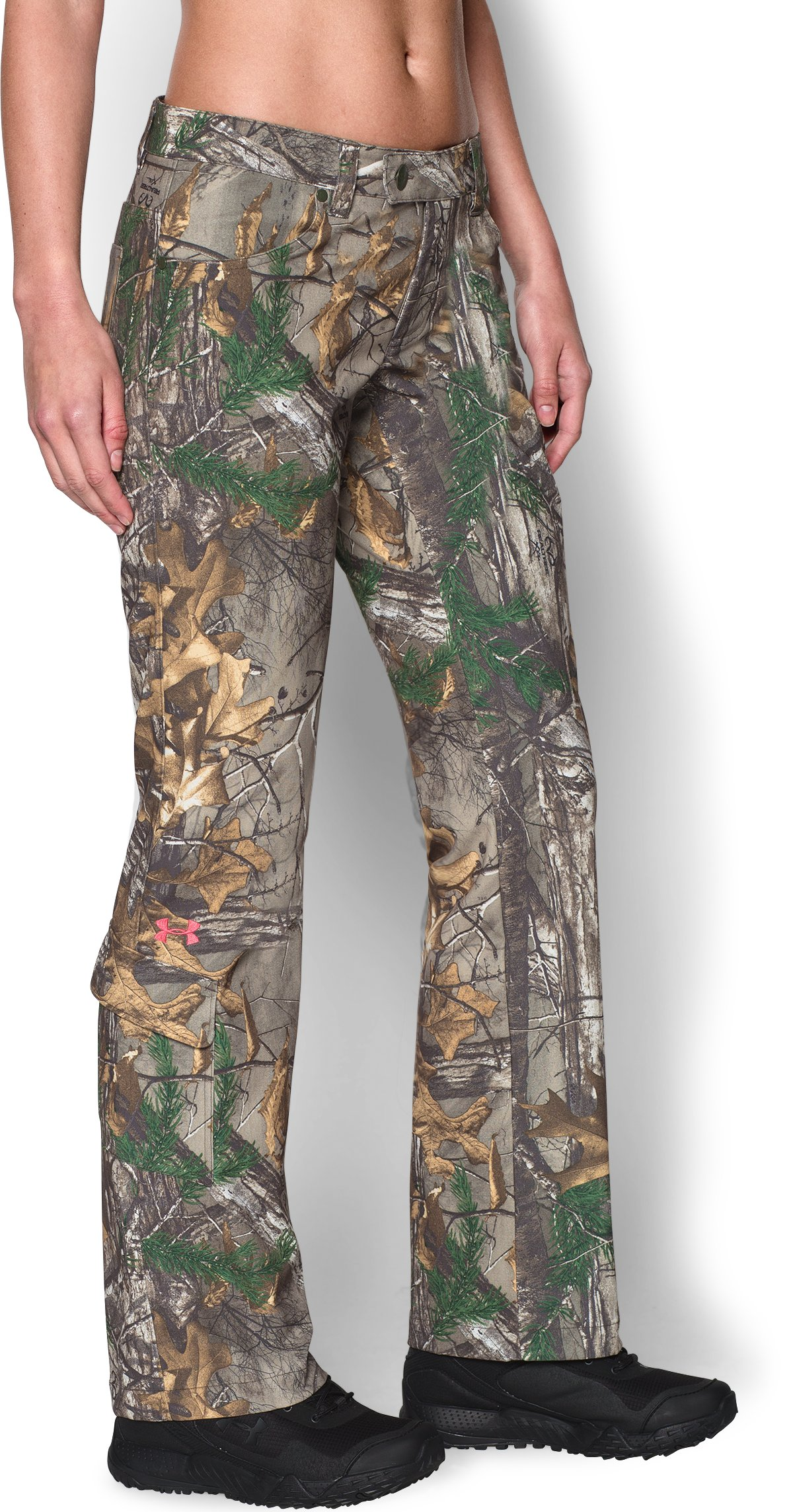 Women's Under Armour® Scent Control Field Pants, REALTREE AP-XTRA