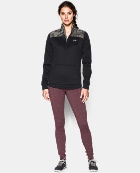 Women's UA Caliber ½ Zip  1 Color $38.99 to $48.99