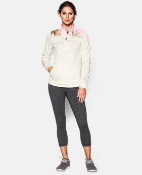 Women's UA Caliber ½ Zip  2 Colors $38.99 to $48.99