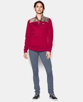 Women's UA Caliber ½ Zip  1 Color $29.24