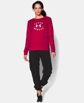 Women's UA Established Crew  3 Colors $26.99 to $33.99