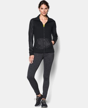 New Arrival  Women's UA Studio Essential Jacket LIMITED TIME: FREE SHIPPING 1 Color $84.99