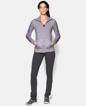 Women's UA Studio Essential Jacket LIMITED TIME: FREE U.S. SHIPPING 3 Colors $42.74 to $56.99