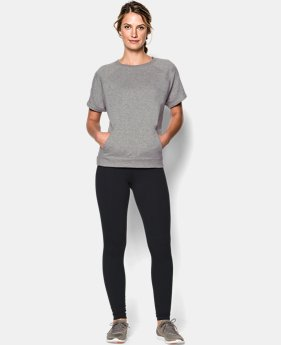 Women's UA Studio Terry Short Sleeve Crew LIMITED TIME: FREE U.S. SHIPPING 2 Colors $69.99