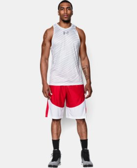 Men's UA Mace Printed Tank LIMITED TIME: FREE U.S. SHIPPING 1 Color $20.99 to $26.99