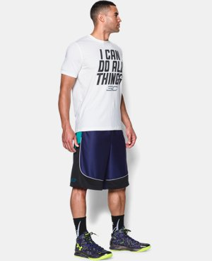 Men's SC30 Beyond The Arc Basketball Shorts  1 Color $26.99