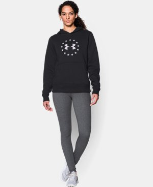 Women's UA Freedom Logo Hoodie LIMITED TIME: FREE U.S. SHIPPING 1 Color $33.74