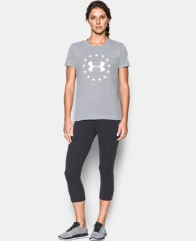 Women's UA Freedom Logo Short Sleeve  1  Color Available $29.99