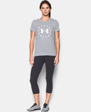 Women's UA Freedom Logo Short Sleeve LIMITED TIME: FREE U.S. SHIPPING 1 Color $29.99