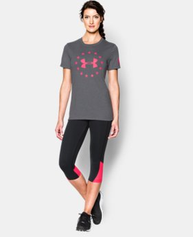 Women's UA Freedom Logo Short Sleeve LIMITED TIME: FREE SHIPPING 3 Colors $34.99