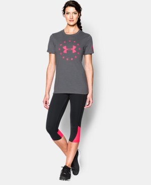 Women's UA Freedom Logo Short Sleeve LIMITED TIME: FREE U.S. SHIPPING 1 Color $22.99