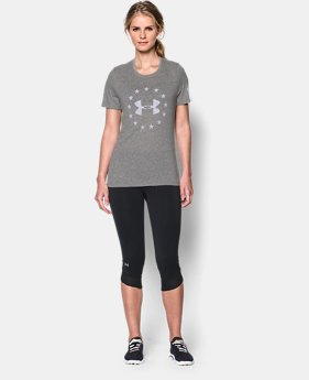 Women's UA Freedom Logo Short Sleeve  1 Color $17.99