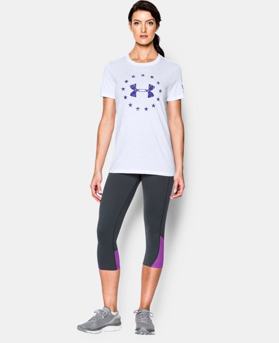 Women's UA Freedom Logo Short Sleeve  1 Color $26.99