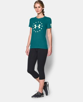 Women's UA Freedom Logo Short Sleeve