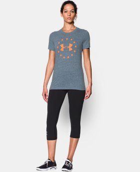 New Arrival Women's UA Freedom Logo Short Sleeve  1 Color $29.99