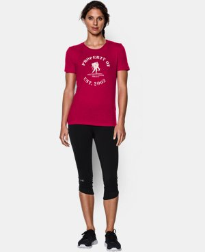 Women's UA WWP Property Of Short Sleeve LIMITED TIME: FREE U.S. SHIPPING 2 Colors $17.24 to $22.99