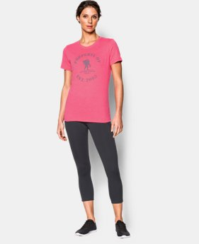 Women's UA WWP Property Of Short Sleeve   $22.99