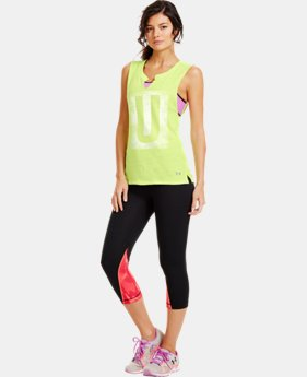 Women's UA Letters Sleeveless Tri-Blend Tank