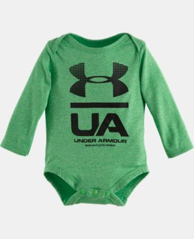Boys' Newborn UA Original LS Bodysuit