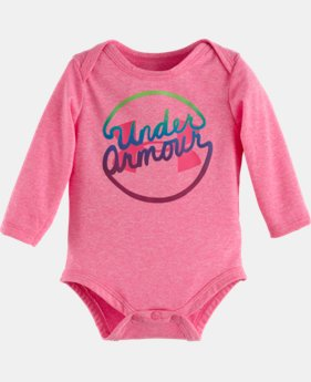 Girls' Newborn Comingle UA Big Logo Bodysuit