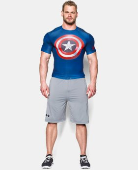 Men's Under Armour® Alter Ego Captain America Compression Shirt