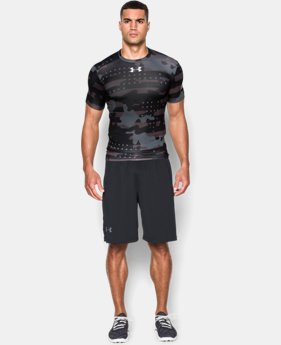 Men's UA Freedom Camo Short Sleeve Compression Shirt  1 Color $29.99
