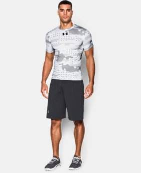 Men's UA Freedom Camo Short Sleeve Compression Shirt