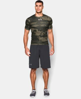 Men's UA Freedom Camo Short Sleeve Compression Shirt  1 Color $29.99 to $37.99