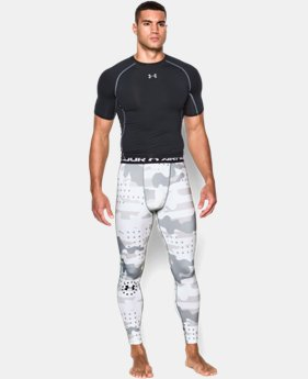 Men's UA Freedom Camo Compression Leggings