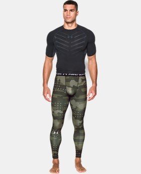 Men's UA Freedom Camo Compression Leggings  1 Color $37.99