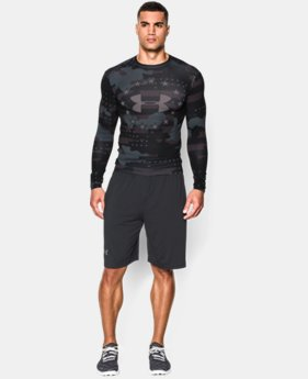Men's UA Freedom Camo Long Sleeve Compression Shirt   $52.99
