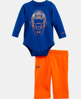 Boys' Newborn UA Protect Long Sleeve 2-Piece Set