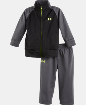 Boys' Newborn UA Brawler II Warm-Up 2-Piece Set