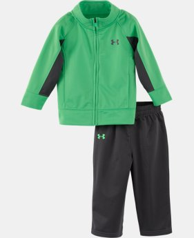 Boys' Newborn UA Element Track 2-Piece Set