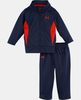 Boys' Newborn UA Precision Warm-Up 2-Piece Set