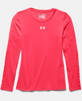 Girls' UA Block Party Long Sleeve Jersey