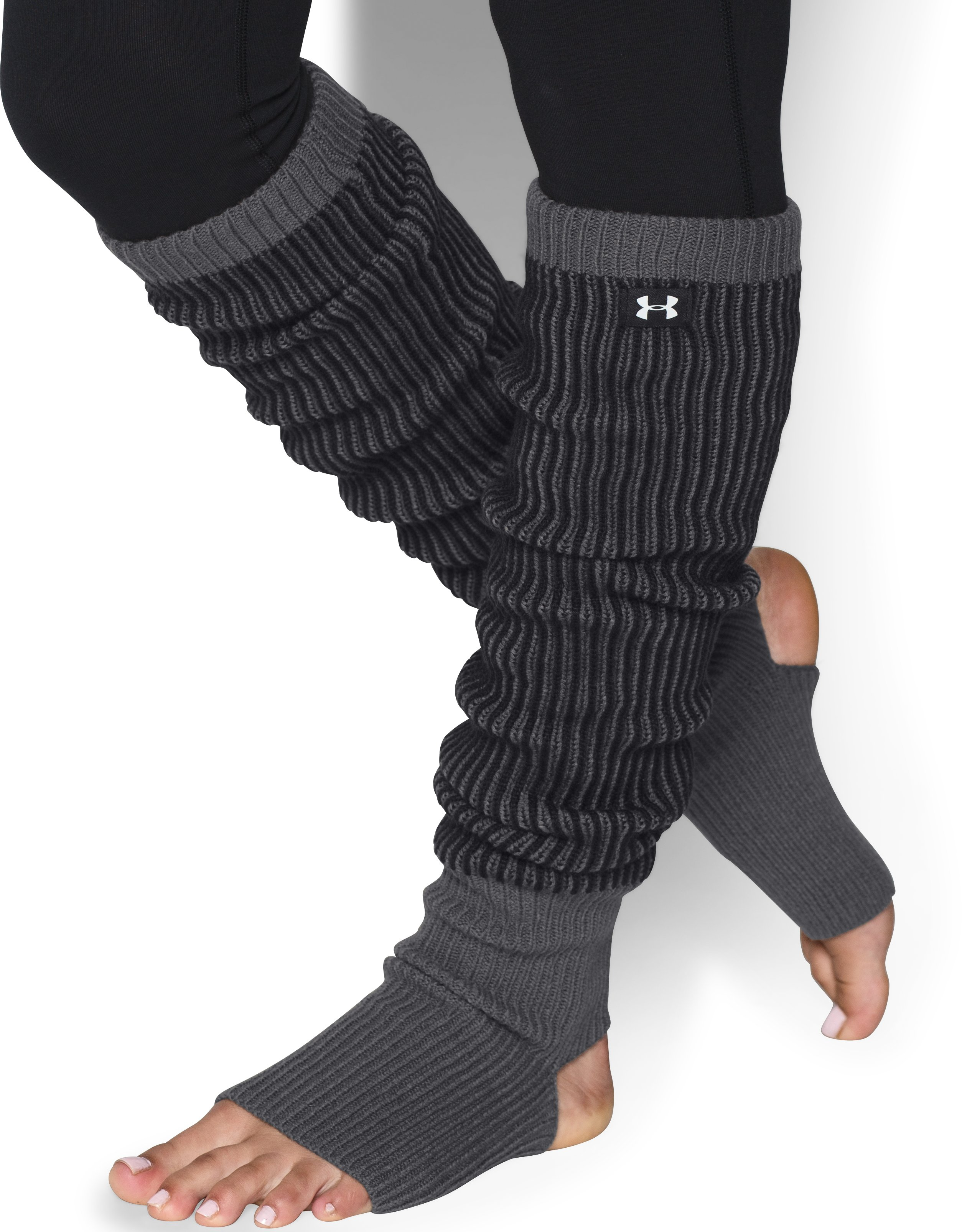 Women's UA On & Off Leg Warmers, Black