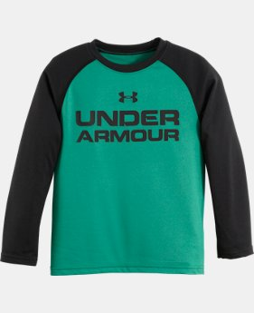 Boys' Infant UA UA Wordmark LS T-Shirt