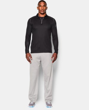 Men's UA ColdGear® Infrared Grid ½ Zip Mock LIMITED TIME: FREE SHIPPING 1 Color $47.99