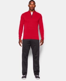 Men's UA ColdGear® Infrared Grid ½ Zip Mock LIMITED TIME: FREE U.S. SHIPPING 1 Color $42.74
