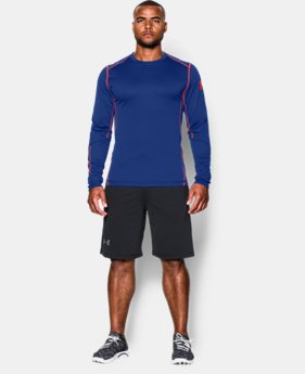 Men's UA ColdGear® Infrared Grid Crew  1 Color $39.74