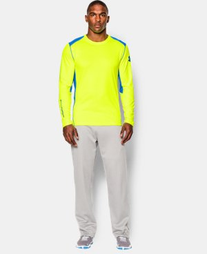 Men's UA ColdGear® Infrared Grid Crew  1 Color $29.24