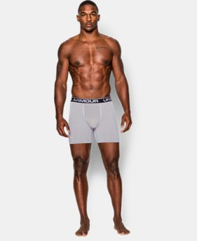 "Men's UA Capital Seamless Series 6"" Boxerjock®  1 Color $26.99"
