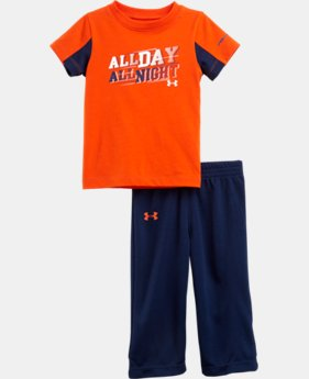 Boys' Infant UA All Day All Night 2-Piece Set