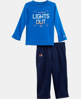 Boys' Infant UA Lights Out Long Sleeve 2-Piece Set